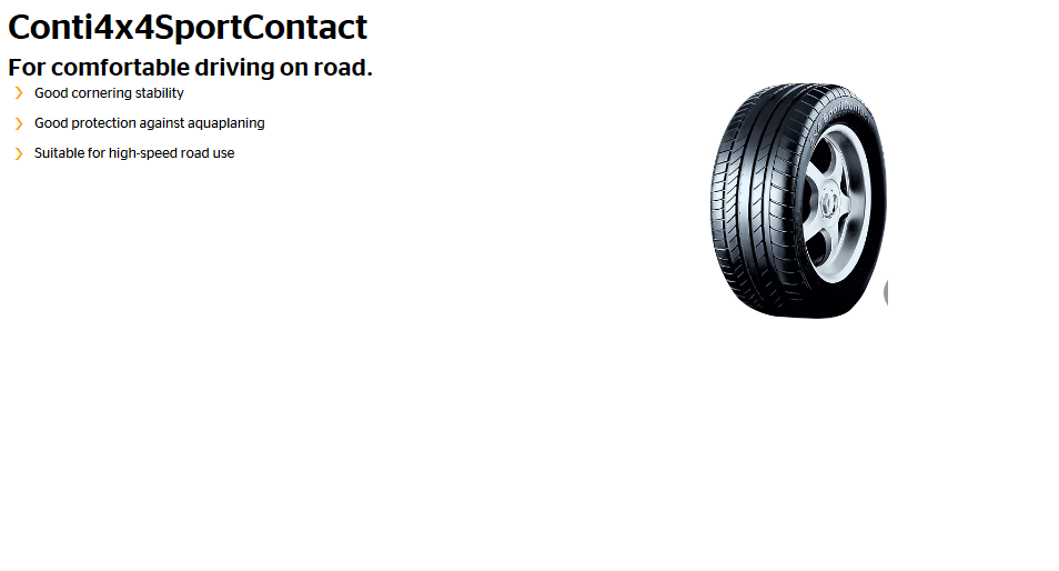 4x4SportContact tyre image
